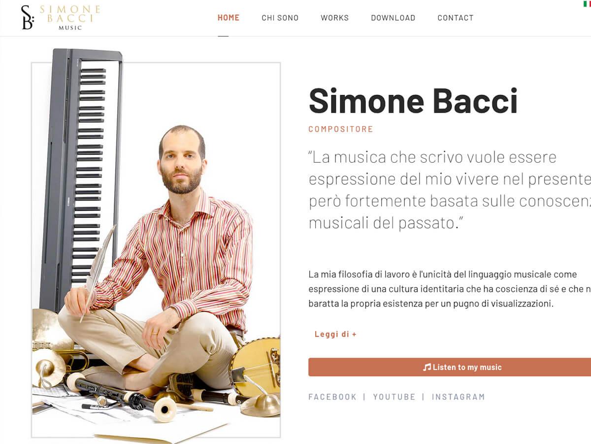 Simone Bacci Music